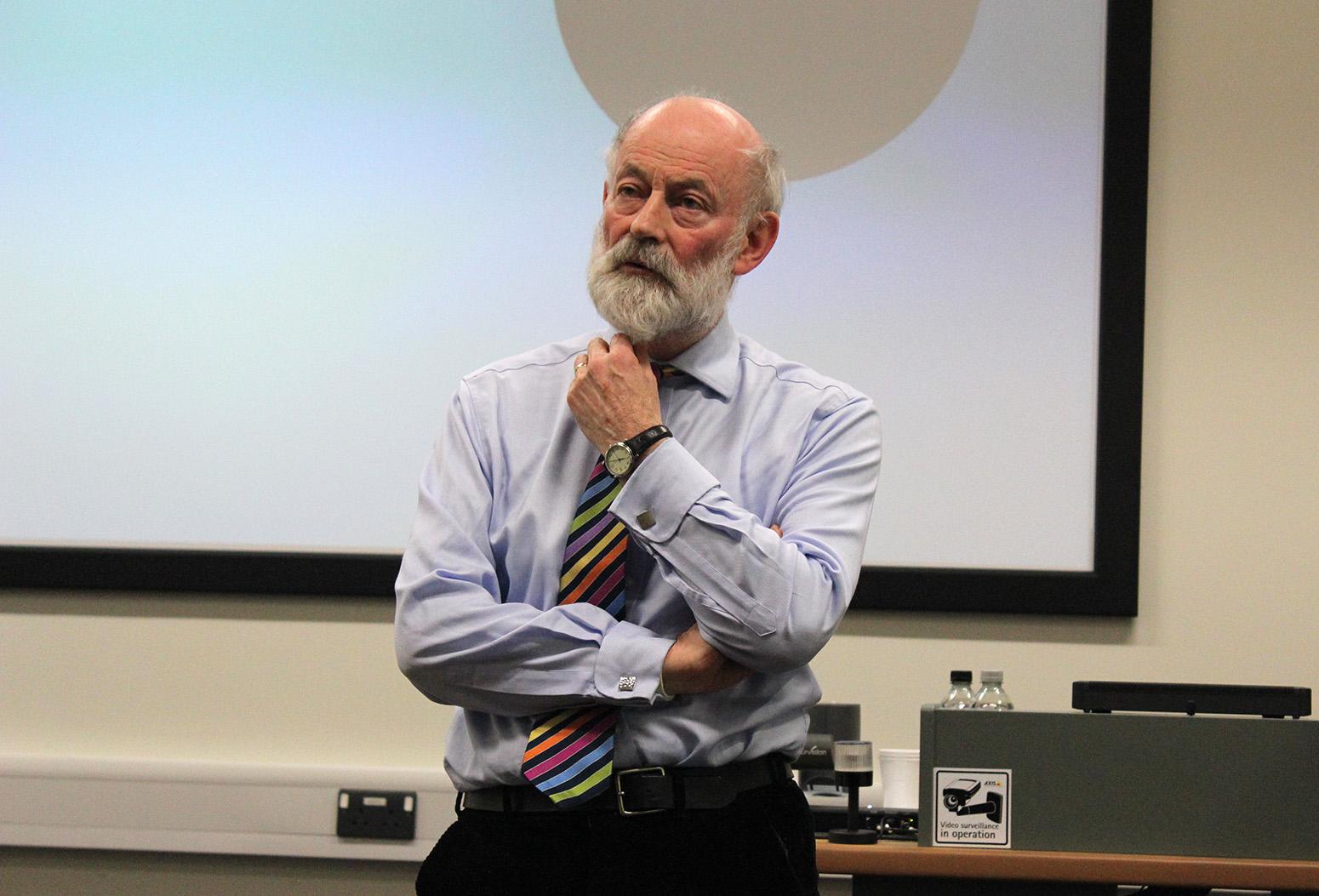 Prof Raymond Tallis. Credit: Tom Prater / Maudsley Philosophy Group